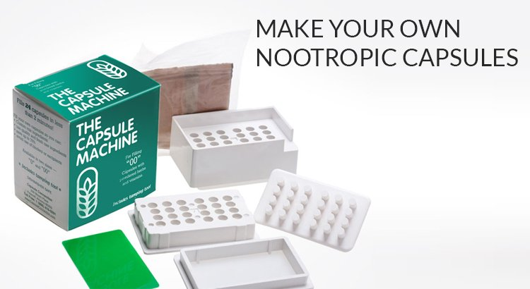 How to Make Your Own Nootropic Capsules | Braintropic